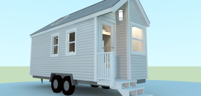 The Casper Tiny House Plan