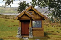 Marie Colvin Craftsman Style Tiny House - Four Lights