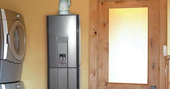Use Tankless Water Heaters to Save Space in Your Tiny House